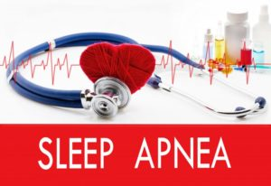 sleep apnea health concept